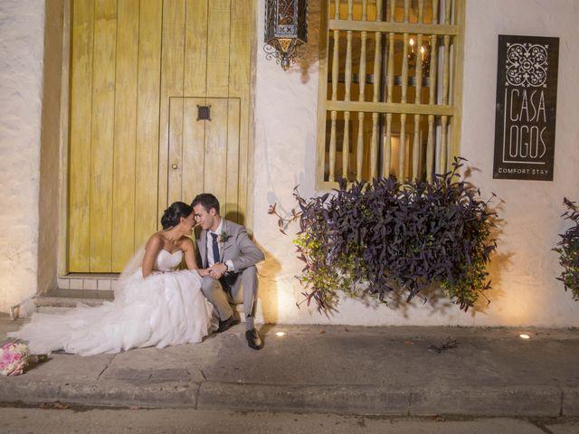 El matrimonio de Thibault y Diana en Cartagena, Bolívar 50