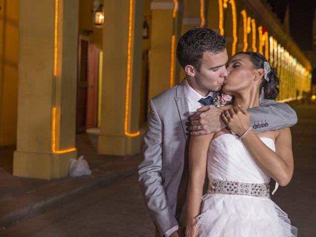 El matrimonio de Thibault y Diana en Cartagena, Bolívar 58