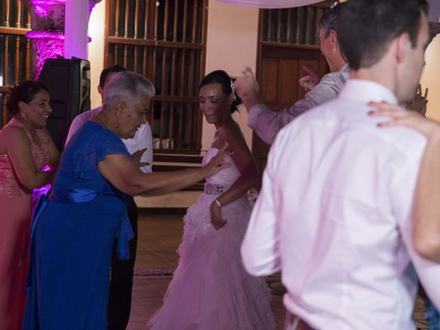 El matrimonio de Thibault y Diana en Cartagena, Bolívar 75