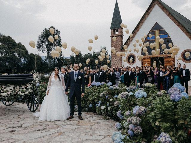 El matrimonio de Edwin y Marcela en Subachoque, Cundinamarca 16