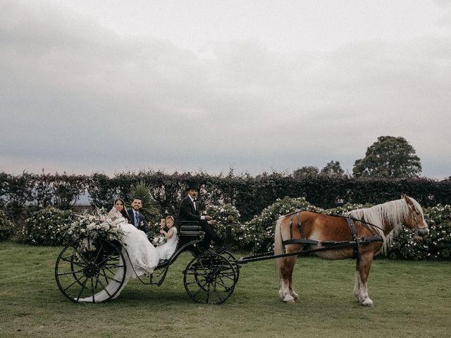 El matrimonio de Edwin y Marcela en Subachoque, Cundinamarca 17