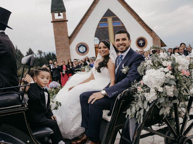 El matrimonio de Edwin y Marcela en Subachoque, Cundinamarca 18