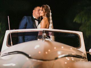 El matrimonio de Daniela y Fernando
