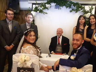 El matrimonio de Daniela Andrea  y Camilo  1