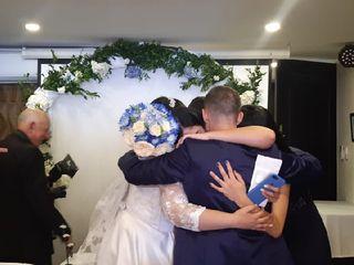El matrimonio de Daniela Andrea  y Camilo  3