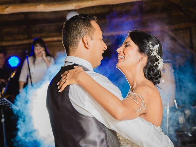 El matrimonio de Angela y Julio