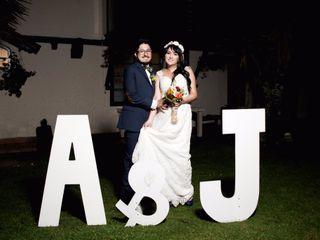 El matrimonio de Johanna y Andres