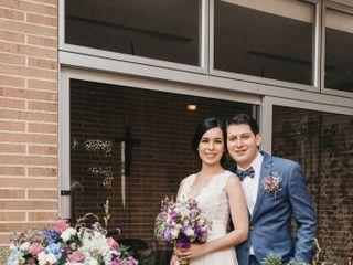 El matrimonio de Verónica y Alejandro
