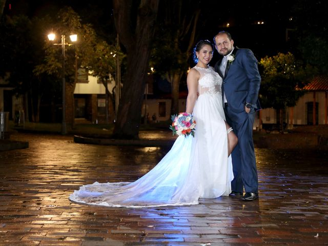 El matrimonio de Liliana y John