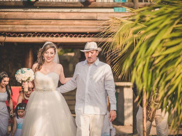 El matrimonio de Nico y Monica en Cartagena, Bolívar 18