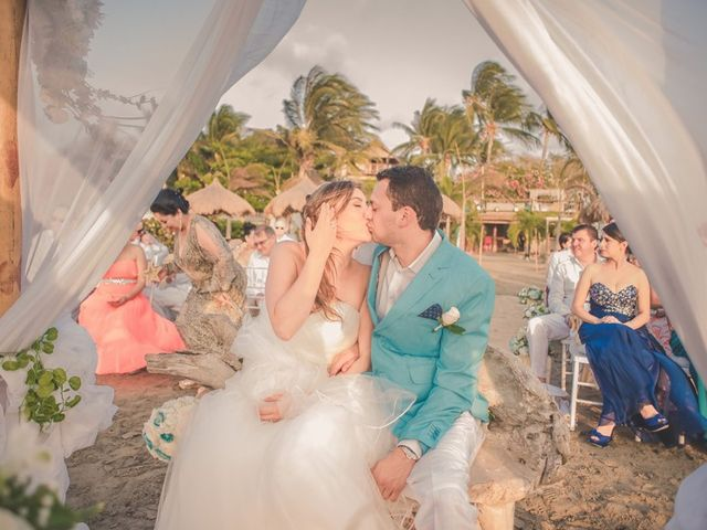 El matrimonio de Nico y Monica en Cartagena, Bolívar 25