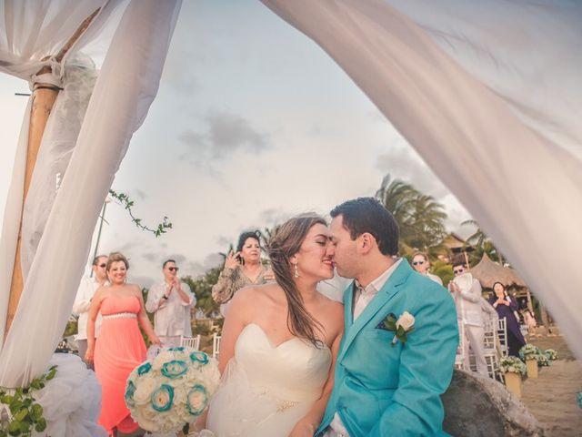 El matrimonio de Nico y Monica en Cartagena, Bolívar 27