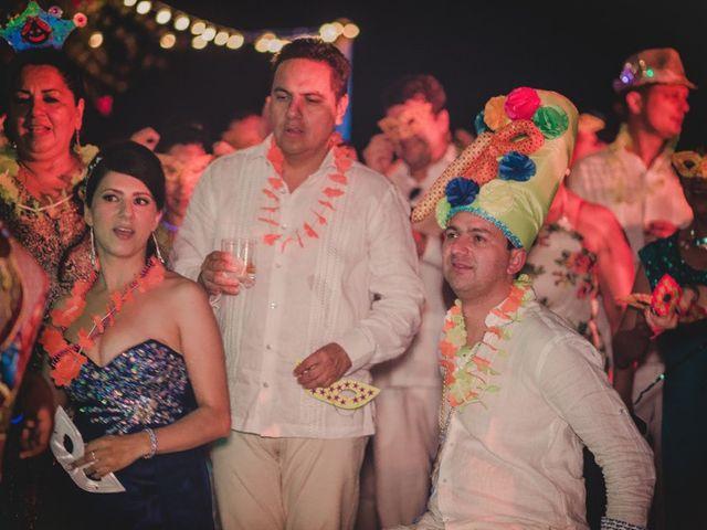 El matrimonio de Nico y Monica en Cartagena, Bolívar 40