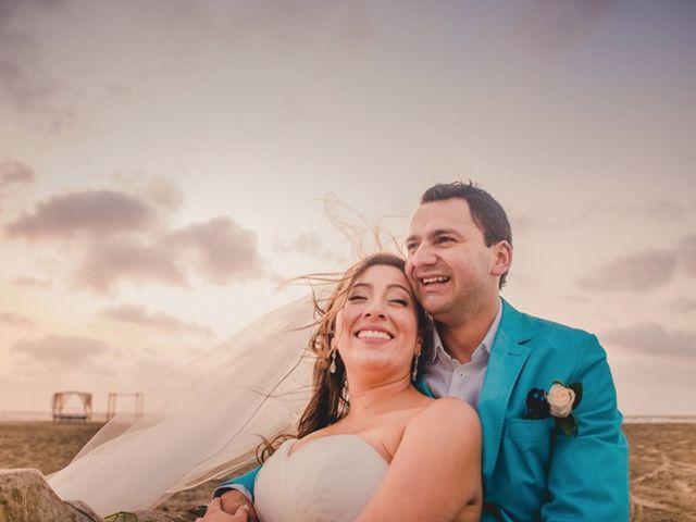 El matrimonio de Nico y Monica en Cartagena, Bolívar 50