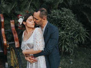 El matrimonio de Marcela y Farid
