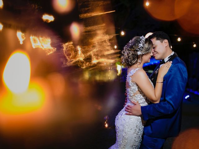 El matrimonio de Audaly y Johan
