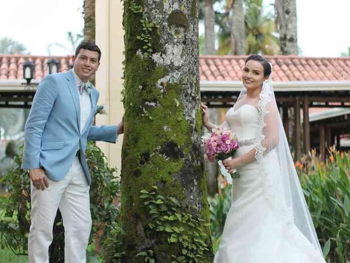 El matrimonio de Ericka y Anderson