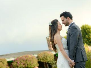 El matrimonio de Andrea y Oscar