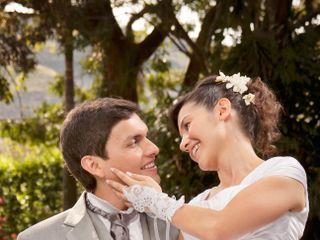 El matrimonio de Yurani y Óscar