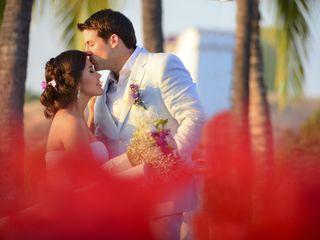 El matrimonio de Andrea y Adam