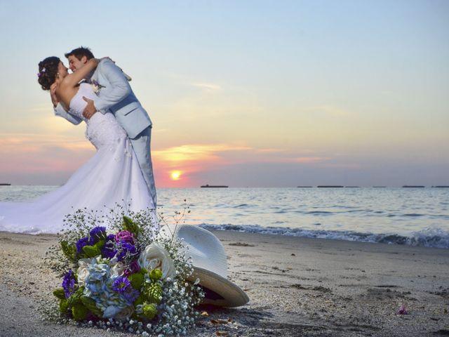El matrimonio de Adam y Andrea en Santa Marta, Magdalena 25