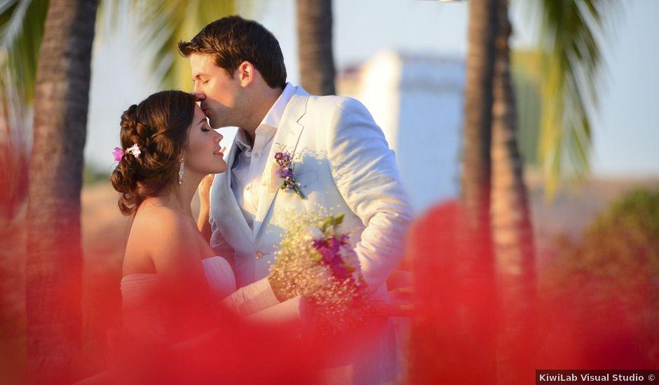 El matrimonio de Adam y Andrea en Santa Marta, Magdalena