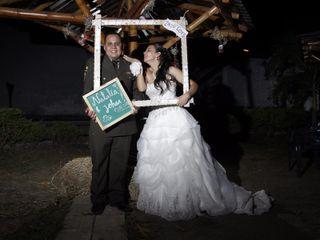 El matrimonio de Natalia y Johan