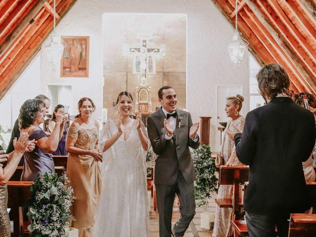 El matrimonio de María y Andrés
