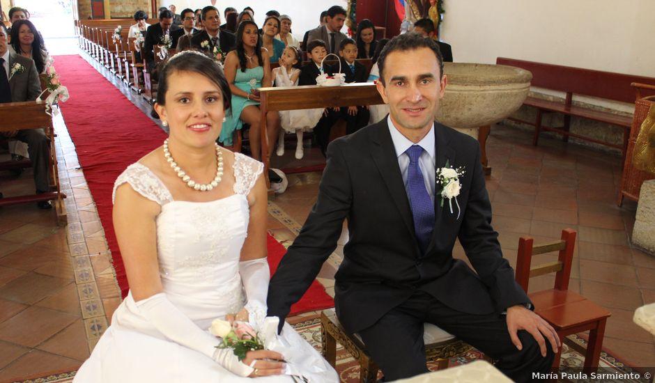 El matrimonio de Andrés y Angélica en Cota, Cundinamarca