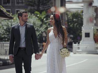 El matrimonio de Maurent y Clement