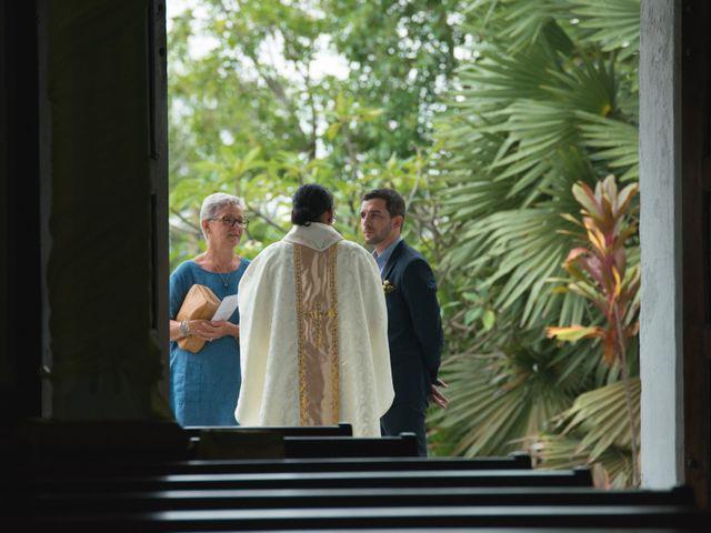 El matrimonio de Clement y Maurent en La Victoria, Amazonas 1