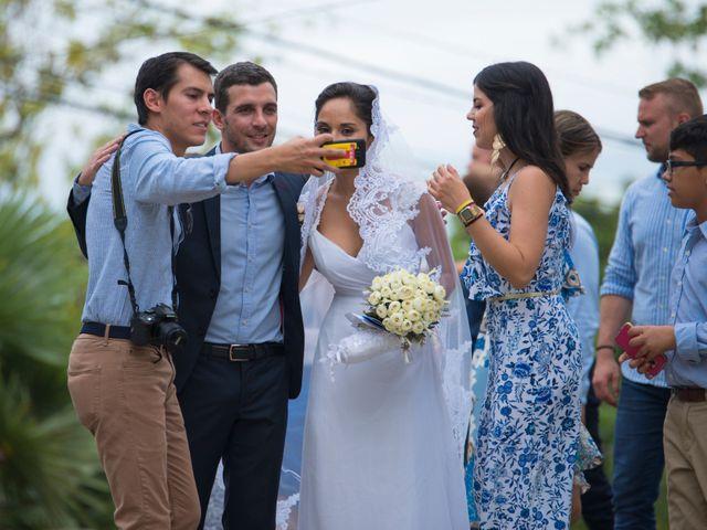 El matrimonio de Clement y Maurent en La Victoria, Amazonas 26
