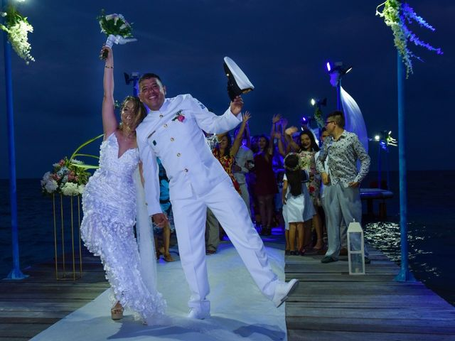 El matrimonio de Claudia y Carlos