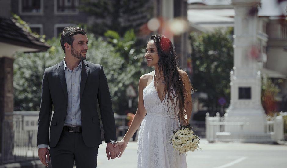 El matrimonio de Clement y Maurent en La Victoria, Amazonas