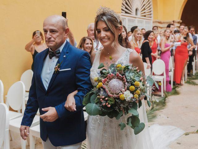 El matrimonio de Nolan y Nataly en Cartagena, Bolívar 21