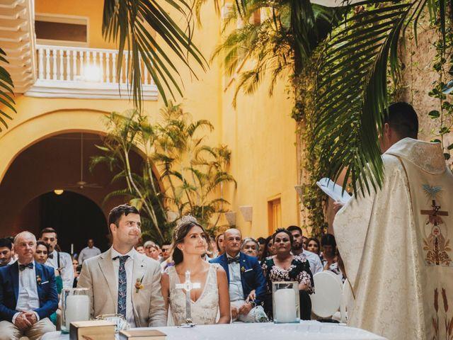 El matrimonio de Nolan y Nataly en Cartagena, Bolívar 25