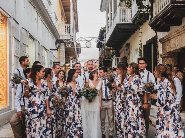 El matrimonio de Nolan y Nataly en Cartagena, Bolívar 33