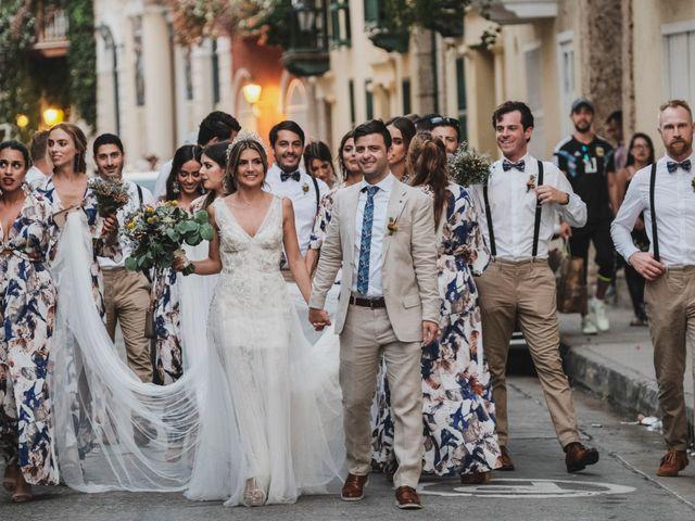El matrimonio de Nolan y Nataly en Cartagena, Bolívar 34