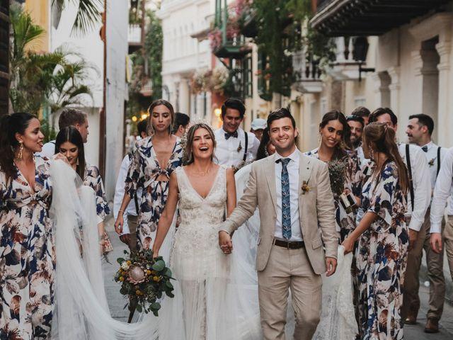 El matrimonio de Nolan y Nataly en Cartagena, Bolívar 35