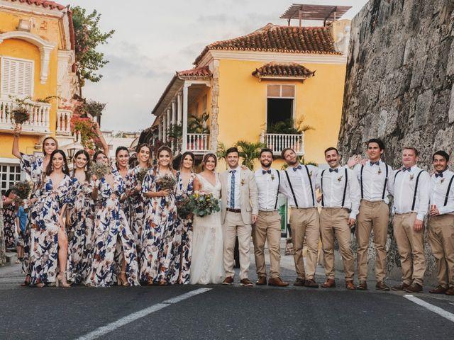 El matrimonio de Nolan y Nataly en Cartagena, Bolívar 36