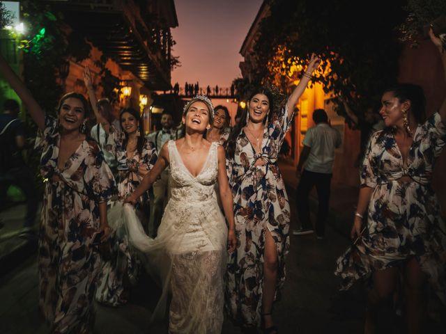 El matrimonio de Nolan y Nataly en Cartagena, Bolívar 44