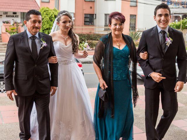 El matrimonio de Sergio y Angie en Bogotá, Bogotá DC 17