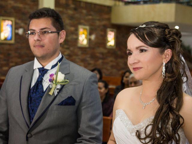El matrimonio de Angie y Sergio