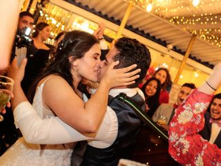 El matrimonio de Juliana y Cristian