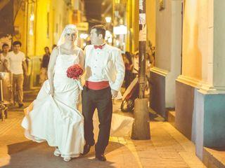 El matrimonio de Laura y Cristobal