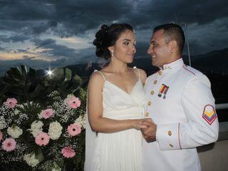 El matrimonio de Elver y Cristina