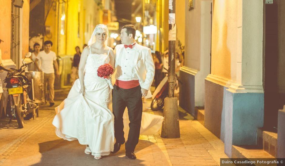 El matrimonio de Cristobal y Laura en Santa Marta, Magdalena
