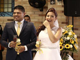 El matrimonio de Paola Andrea y Wilderman