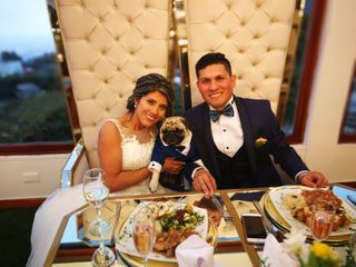El matrimonio de Edwin y Claudia