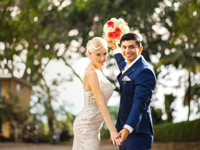 El matrimonio de Jamilla y Mauricio